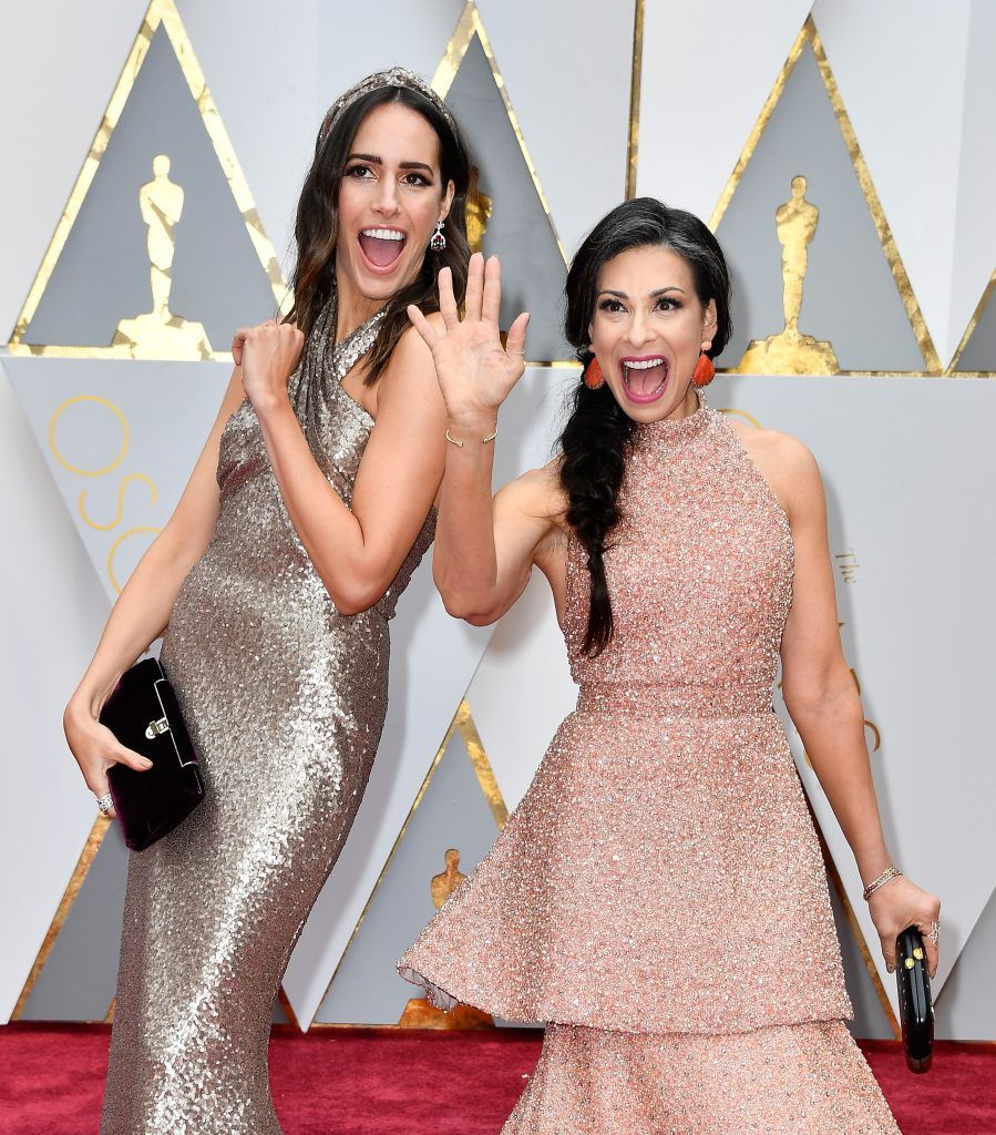 HOLLYWOOD, CA - FEBRUARY 26:  TV personalities Louise Roe (L) and Stacy London attend the 89th Annual Academy Awards at Hollywood & Highland Center on February 26, 2017 in Hollywood, California.  (Photo by Frazer Harrison/Getty Images)