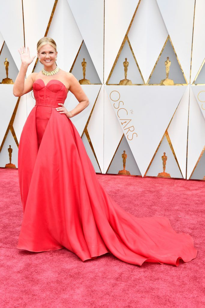 HOLLYWOOD, CA - FEBRUARY 26:  TV personality Nancy O'Dell attends the 89th Annual Academy Awards at Hollywood & Highland Center on February 26, 2017 in Hollywood, California.  (Photo by Frazer Harrison/Getty Images)