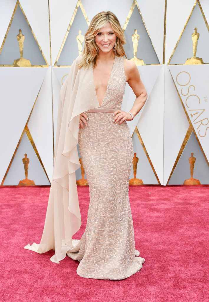 HOLLYWOOD, CA - FEBRUARY 26:  TV personality Debbie Matenopoulos attends the 89th Annual Academy Awards at Hollywood & Highland Center on February 26, 2017 in Hollywood, California.  (Photo by Frazer Harrison/Getty Images)