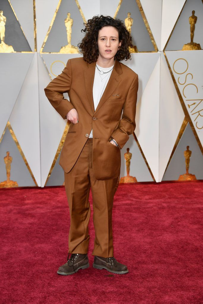 HOLLYWOOD, CA - FEBRUARY 26: Composer Mica Levi attends the 89th Annual Academy Awards at Hollywood & Highland Center on February 26, 2017 in Hollywood, California.  (Photo by Frazer Harrison/Getty Images)