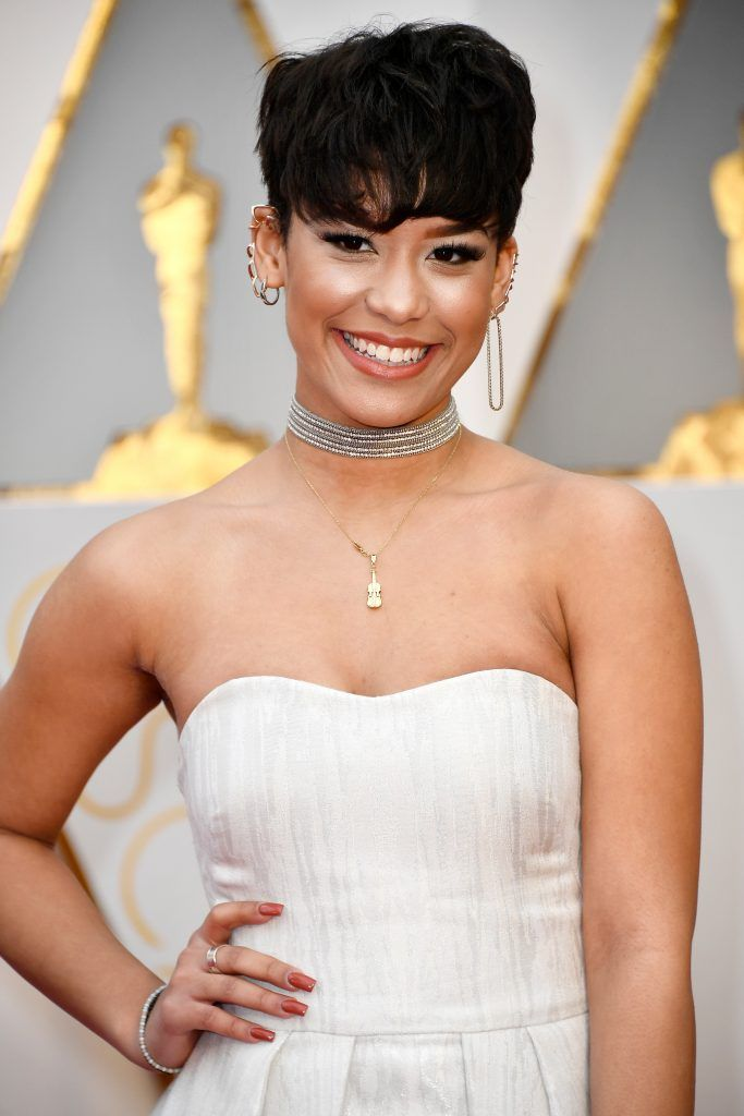 HOLLYWOOD, CA - FEBRUARY 26:  Actor Brianna Perez attends the 89th Annual Academy Awards at Hollywood & Highland Center on February 26, 2017 in Hollywood, California.  (Photo by Frazer Harrison/Getty Images)