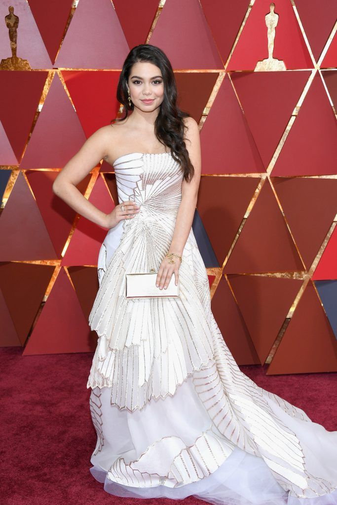 HOLLYWOOD, CA - FEBRUARY 26:  Actor Auli'i Cravalho attends the 89th Annual Academy Awards at Hollywood & Highland Center on February 26, 2017 in Hollywood, California.  (Photo by Kevork Djansezian/Getty Images)