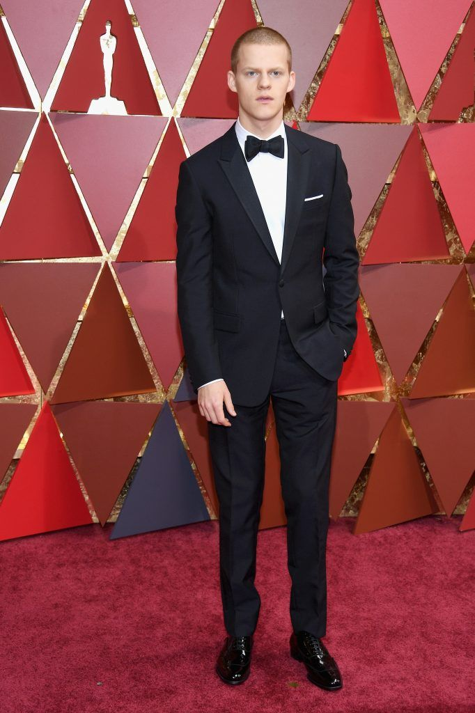 HOLLYWOOD, CA - FEBRUARY 26:  Actor Lucas Hedges attends the 89th Annual Academy Awards at Hollywood & Highland Center on February 26, 2017 in Hollywood, California.  (Photo by Kevork Djansezian/Getty Images)