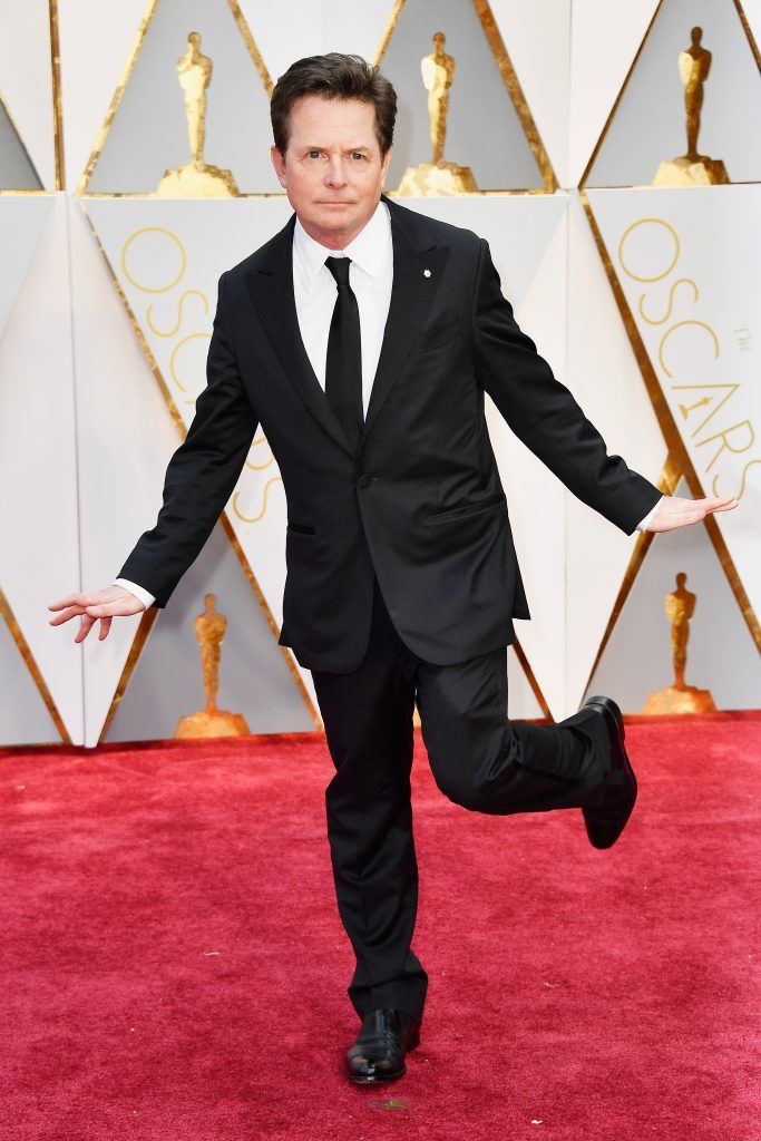 HOLLYWOOD, CA - FEBRUARY 26:  Actor Michael J. Fox attends the 89th Annual Academy Awards at Hollywood & Highland Center on February 26, 2017 in Hollywood, California.  (Photo by Frazer Harrison/Getty Images)