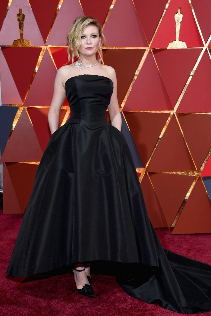 HOLLYWOOD, CA - FEBRUARY 26:  Actor Kirsten Dunst attends the 89th Annual Academy Awards at Hollywood & Highland Center on February 26, 2017 in Hollywood, California.  (Photo by Kevork Djansezian/Getty Images)