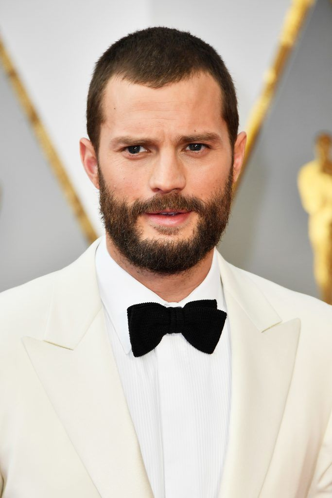 HOLLYWOOD, CA - FEBRUARY 26:  Actor Jamie Dornan attends the 89th Annual Academy Awards at Hollywood & Highland Center on February 26, 2017 in Hollywood, California.  (Photo by Frazer Harrison/Getty Images)