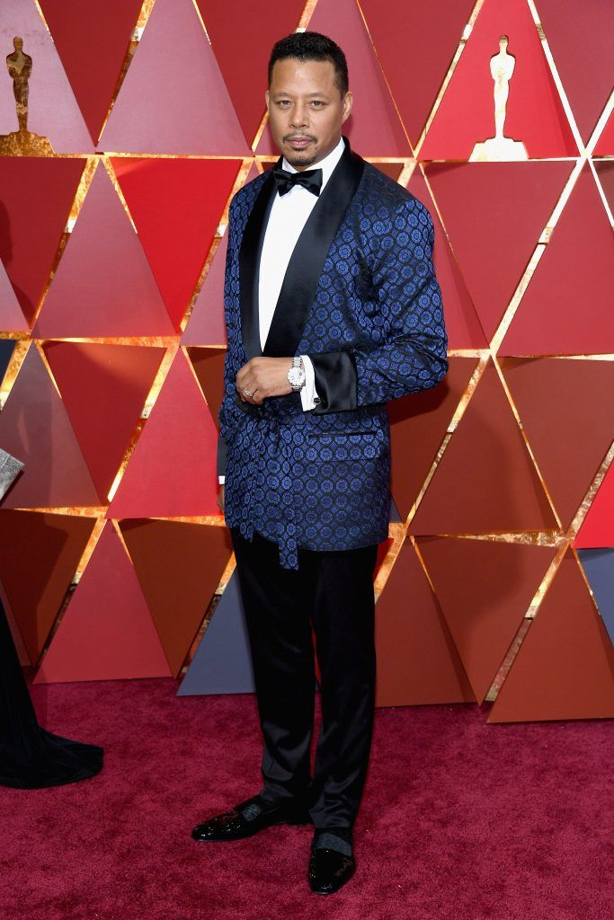 HOLLYWOOD, CA - FEBRUARY 26:  Actor Terrence Howard attends the 89th Annual Academy Awards at Hollywood & Highland Center on February 26, 2017 in Hollywood, California.  (Photo by Kevork Djansezian/Getty Images)