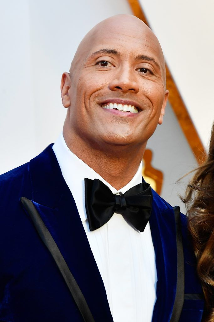 HOLLYWOOD, CA - FEBRUARY 26:  Actor Dwayne Johnson attends the 89th Annual Academy Awards at Hollywood & Highland Center on February 26, 2017 in Hollywood, California.  (Photo by Frazer Harrison/Getty Images)
