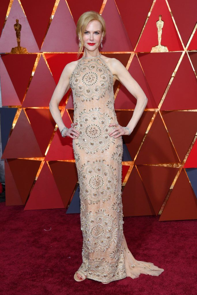 HOLLYWOOD, CA - FEBRUARY 26:  Actor Nicole Kidman attends the 89th Annual Academy Awards at Hollywood & Highland Center on February 26, 2017 in Hollywood, California.  (Photo by Kevork Djansezian/Getty Images)