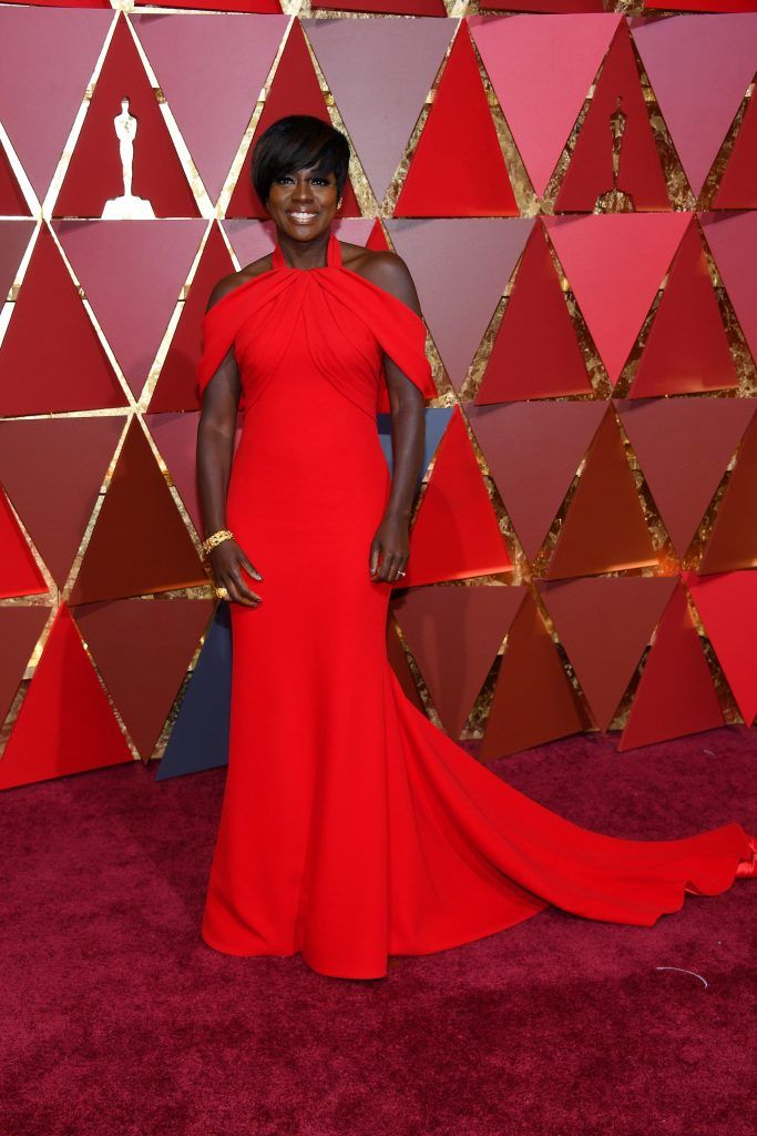 HOLLYWOOD, CA - FEBRUARY 26:  Actor Viola Davis attends the 89th Annual Academy Awards at Hollywood & Highland Center on February 26, 2017 in Hollywood, California.  (Photo by Kevork Djansezian/Getty Images)