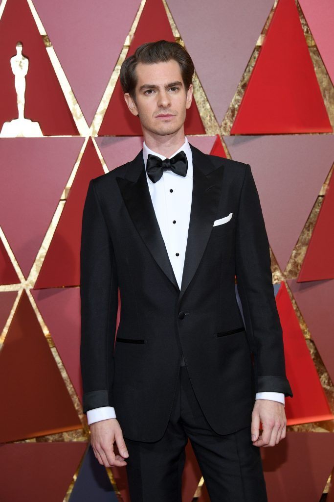 HOLLYWOOD, CA - FEBRUARY 26:  Actor Andrew Garfield attends the 89th Annual Academy Awards at Hollywood & Highland Center on February 26, 2017 in Hollywood, California.  (Photo by Kevork Djansezian/Getty Images)