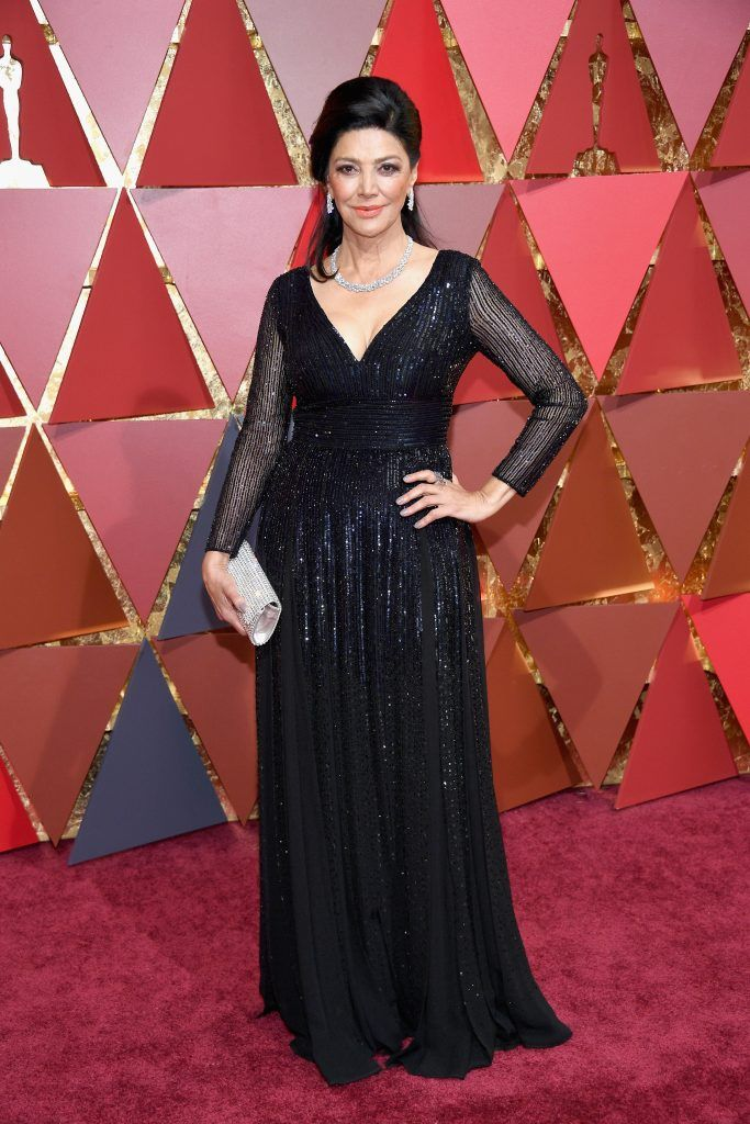 HOLLYWOOD, CA - FEBRUARY 26:  Actor Shohreh Aghdashloo attends the 89th Annual Academy Awards at Hollywood & Highland Center on February 26, 2017 in Hollywood, California.  (Photo by Kevork Djansezian/Getty Images)