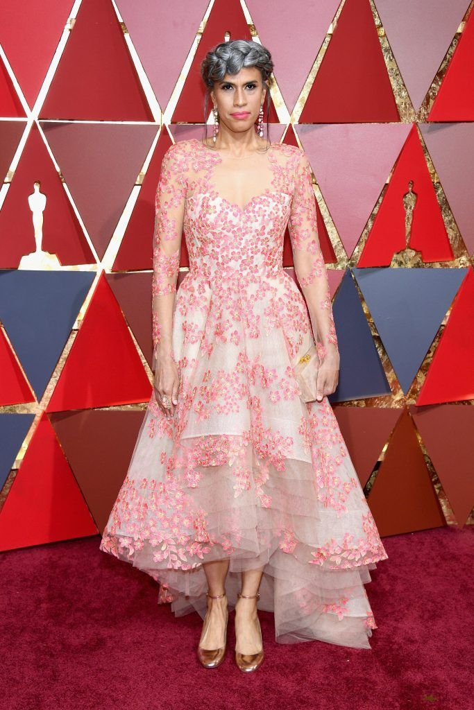 HOLLYWOOD, CA - FEBRUARY 26:  Helen Lasichanh attends the 89th Annual Academy Awards at Hollywood & Highland Center on February 26, 2017 in Hollywood, California.  (Photo by Kevork Djansezian/Getty Images)