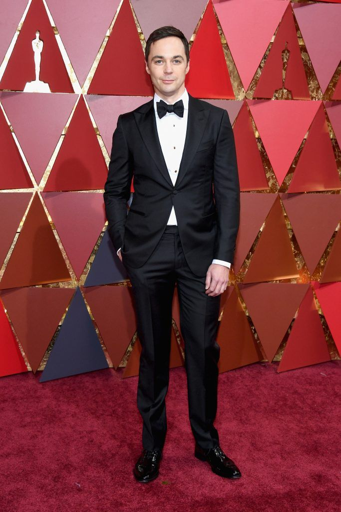 HOLLYWOOD, CA - FEBRUARY 26:  Actor Jim Parsons attends the 89th Annual Academy Awards at Hollywood & Highland Center on February 26, 2017 in Hollywood, California.  (Photo by Kevork Djansezian/Getty Images)