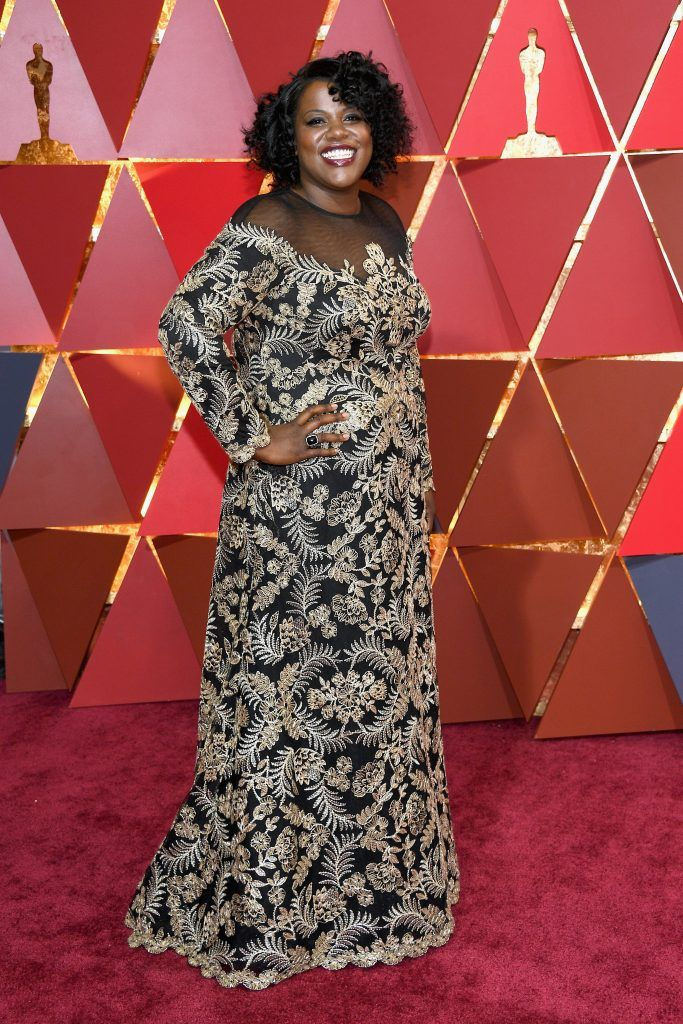 HOLLYWOOD, CA - FEBRUARY 26: Film Editor Joi McMillon attends the 89th Annual Academy Awards at Hollywood & Highland Center on February 26, 2017 in Hollywood, California.  (Photo by Kevork Djansezian/Getty Images)