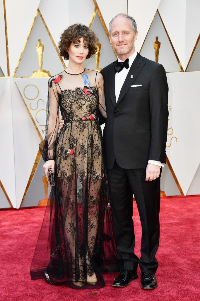 HOLLYWOOD, CA - FEBRUARY 26:  Director Miranda July and Producer Mike Mills attend the 89th Annual Academy Awards at Hollywood & Highland Center on February 26, 2017 in Hollywood, California.  (Photo by Frazer Harrison/Getty Images)