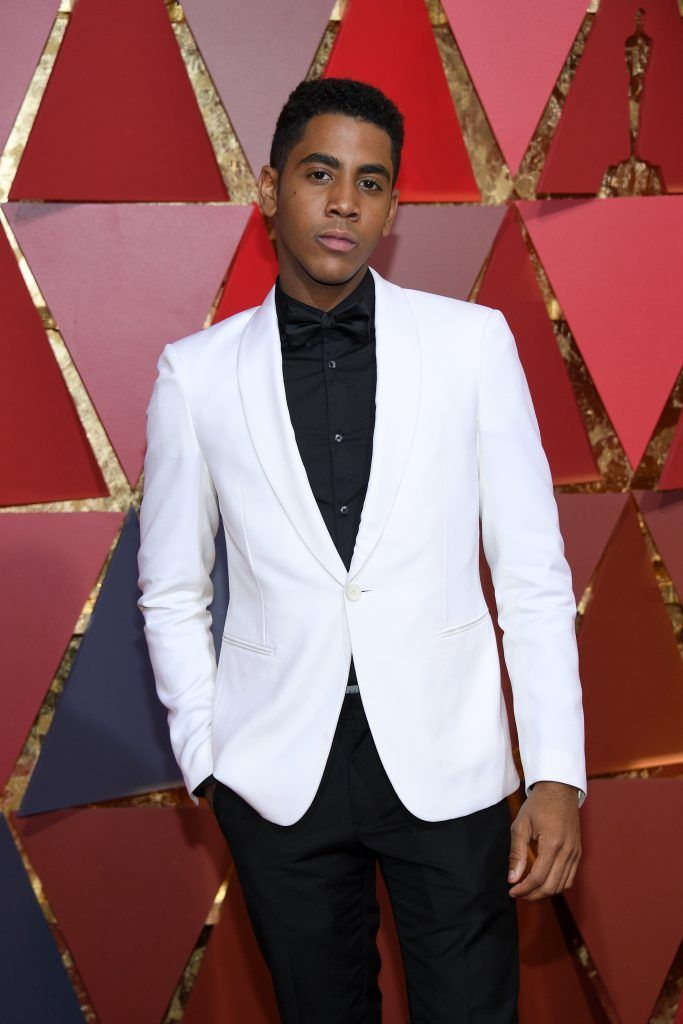 HOLLYWOOD, CA - FEBRUARY 26:  Actor Jharrel Jerome attends the 89th Annual Academy Awards at Hollywood & Highland Center on February 26, 2017 in Hollywood, California.  (Photo by Kevork Djansezian/Getty Images)