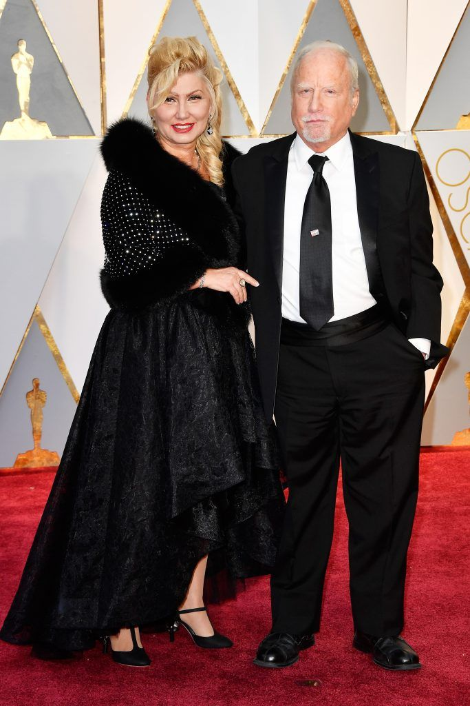 HOLLYWOOD, CA - FEBRUARY 26:  Actor Richard Dreyfuss and Svetlana Erokhin attend the 89th Annual Academy Awards at Hollywood & Highland Center on February 26, 2017 in Hollywood, California.  (Photo by Frazer Harrison/Getty Images)