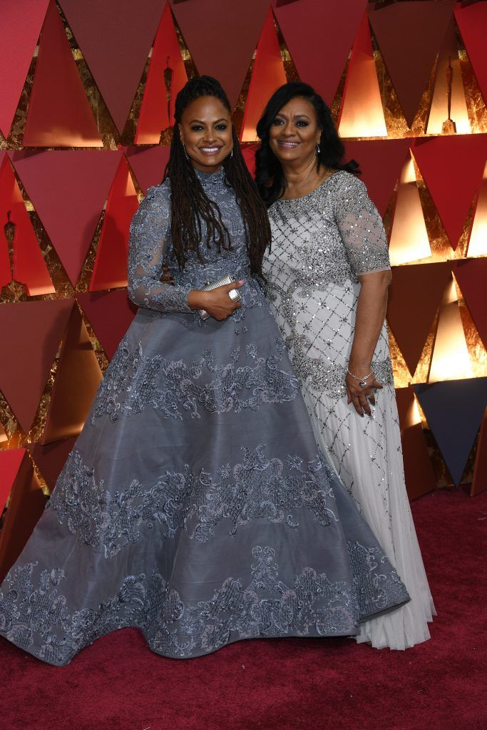 HOLLYWOOD, CA - FEBRUARY 26:  Director Ava DuVernay and Darlene Maye attend the 89th Annual Academy Awards at Hollywood & Highland Center on February 26, 2017 in Hollywood, California.  (Photo by Kevork Djansezian/Getty Images)