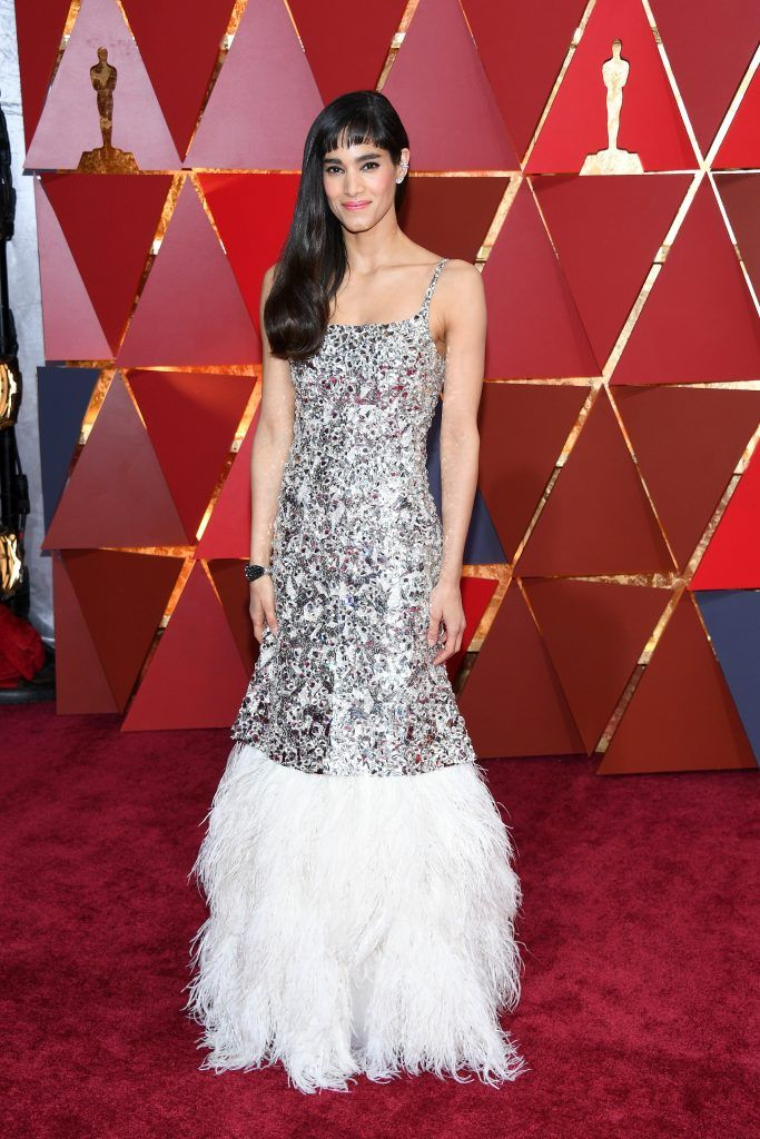HOLLYWOOD, CA - FEBRUARY 26:  Sofia Boutella attends the 89th Annual Academy Awards at Hollywood & Highland Center on February 26, 2017 in Hollywood, California.  (Photo by Kevork Djansezian/Getty Images)