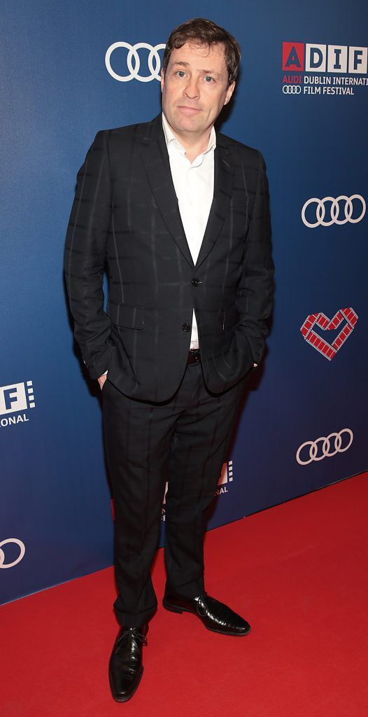 Ardal O Hanlon at the Audi Dublin International Film Festival closing night gala screening of Handsome Devil at The Savoy Cinema in Dublin (Picture: Brian McEvoy).