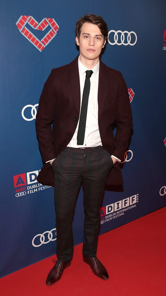 Actor Nick Galitzine at the Audi Dublin International Film Festival closing night gala screening of Handsome Devil at The Savoy Cinema in Dublin (Picture: Brian McEvoy).