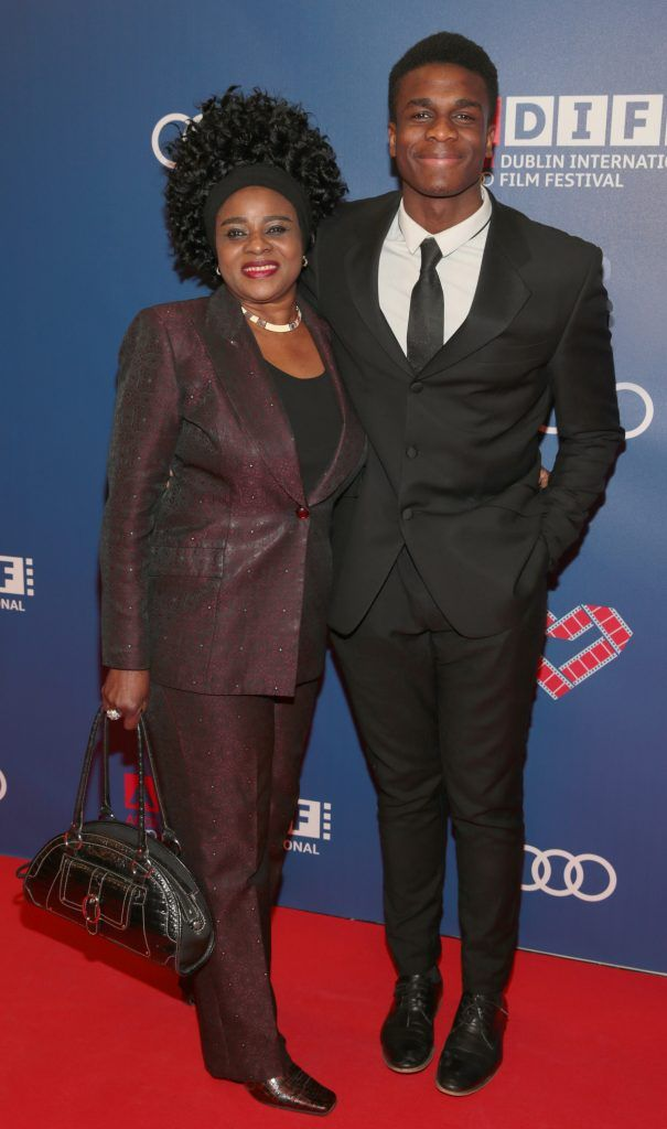 Clint Liberty and Rose Liberty at the Audi Dublin International Film Festival closing night gala screening of Handsome Devil at The Savoy Cinema in Dublin (Picture: Brian McEvoy).