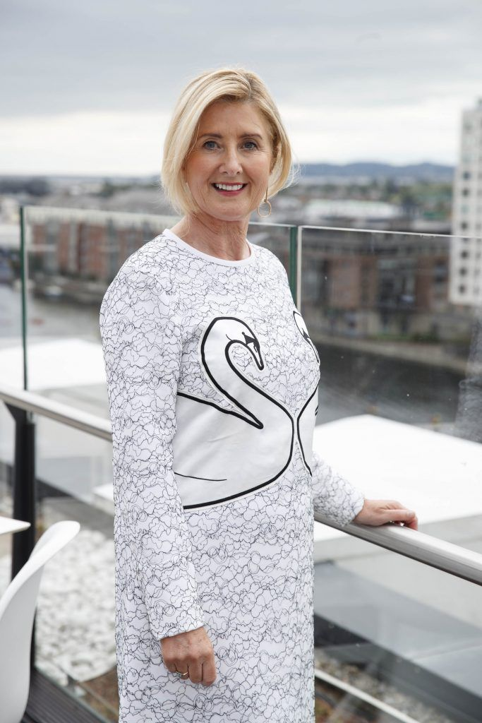 Miriam O'Reilly pictured at the launch of the Galway Races Summer Festival where the judges for the g Hotel Best Dressed Lady and the g Hotel Best Hat were revealed. The event will take place on August 3rd #gHotelBestDressed. Picture by Andres Poveda