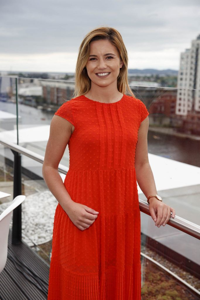 Tara Hession pictured at the launch of the Galway Races Summer Festival where the judges for the g Hotel Best Dressed Lady and the g Hotel Best Hat were revealed. The event will take place on August 3rd #gHotelBestDressed. Picture by Andres Poveda