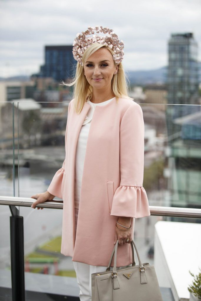 Marietta Doran pictured at the launch of the Galway Races Summer Festival where the judges for the g Hotel Best Dressed Lady and the g Hotel Best Hat were revealed. The event will take place on August 3rd #gHotelBestDressed. Picture by Andres Poveda