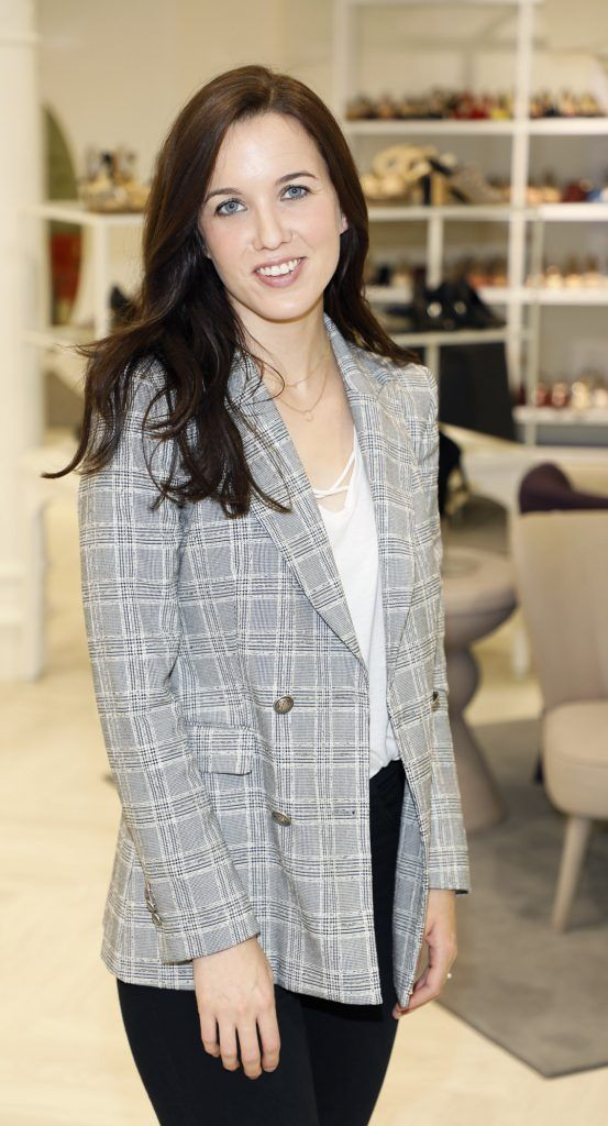 Cathy Donohue at the Arnotts Autumn Winter 2017 Womenswear Collection Preview. Photo by Kieran Harnett