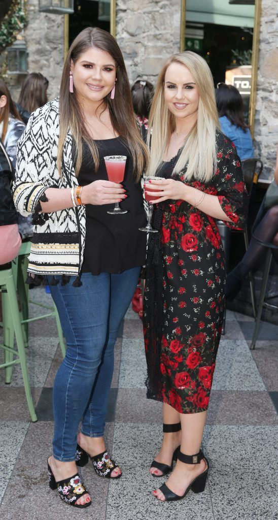 Pictured at the launch of Inglot's new 'Signature Collection' of eyeshadow palettes in Nolita's garden terrace. Photograph: Leon Farrell / Photocall Ireland