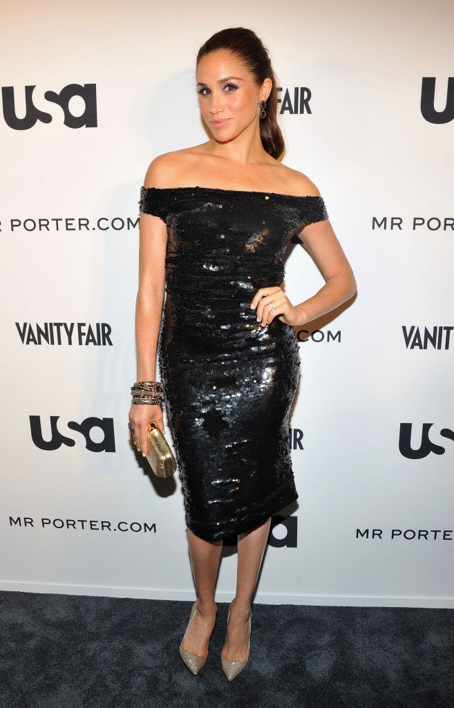 "Meghan Markle  of Suits attends USA Network and Mr Porter.com Present ""A Suits Story"" on June 12, 2012 in New York, United States.  (Photo by Theo Wargo/Getty Images for NBCUniversal/USA Network)"