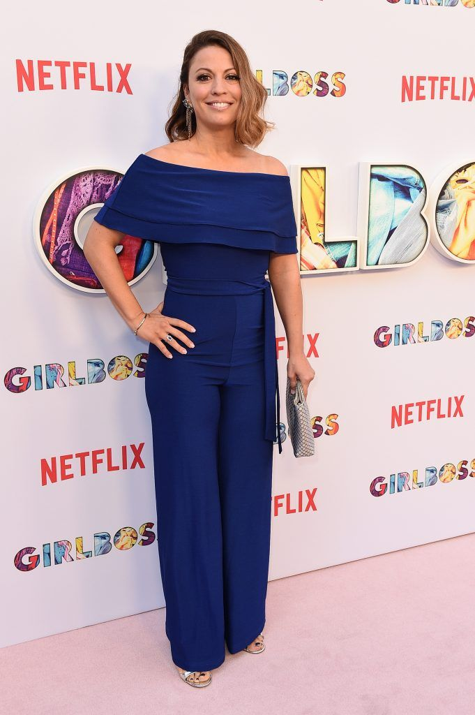 "Show creator Kay Cannon attends the premiere of Netflix's ""Girlboss"" at ArcLight Cinemas on April 17, 2017 in Hollywood, California.  (Photo by Kevork Djansezian/Getty Images)"