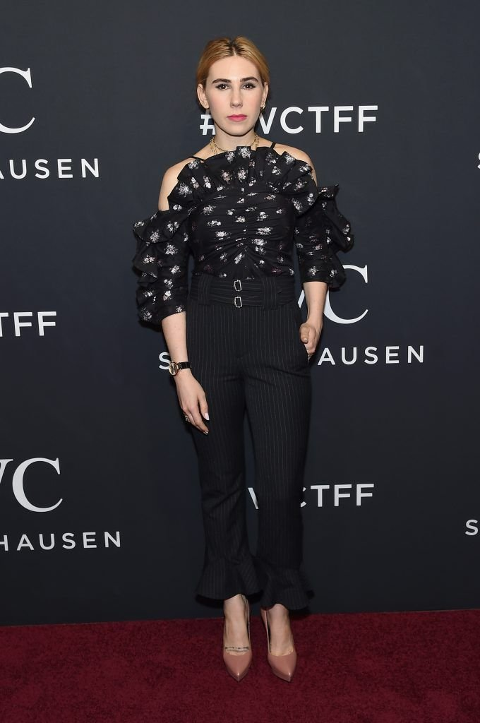 Actress Zosia Mamet attends the exclusive gala event 'For the Love of Cinema' during the Tribeca Film Festival hosted by luxury watch manufacturer IWC Schaffhausen on April 20, 2017 in New York City.  (Photo by Jamie McCarthy/Getty Images for IWC)
