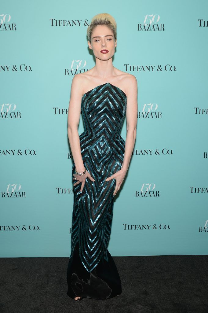 Coco Rocha attends Harper's BAZAAR 150th Anniversary Event presented with Tiffany & Co at The Rainbow Room on April 19, 2017 in New York City.  (Photo by Andrew Toth/Getty Images for Harper's BAZAAR)