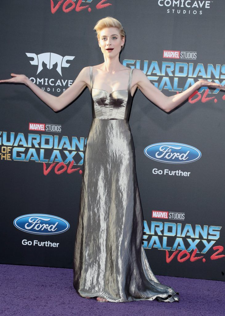 "Actor Elizabeth Debicki at the premiere of Disney and Marvel's ""Guardians Of The Galaxy Vol. 2"" at Dolby Theatre on April 19, 2017 in Hollywood, California.  (Photo by Frederick M. Brown/Getty Images)"