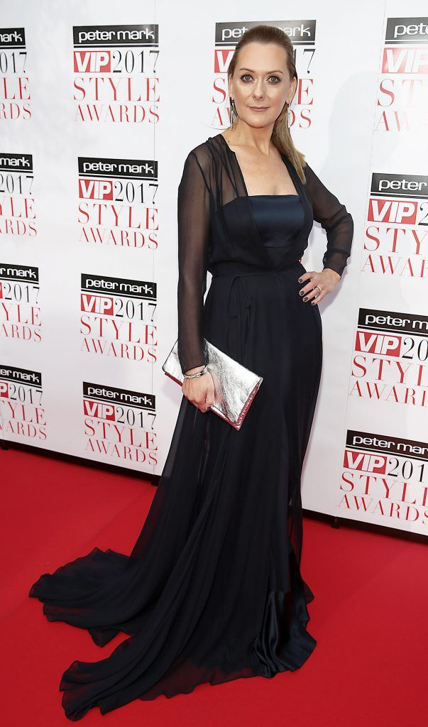 Cathy Belton at the Peter Mark VIP Style Awards 2017 at The Marker Hotel, Dublin. Picture by Brian McEvoy.
