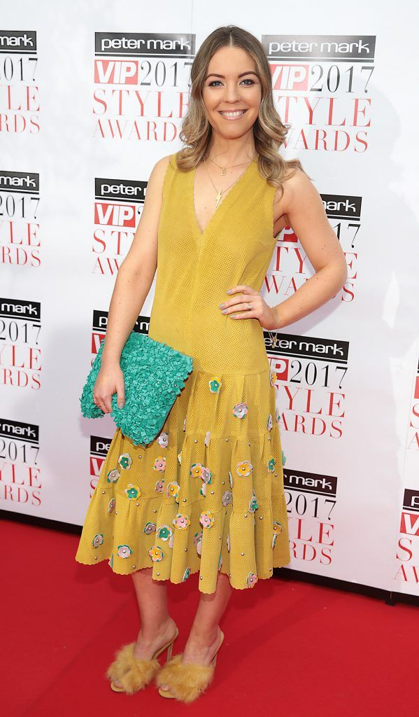 Emma Manley at the Peter Mark VIP Style Awards 2017 at The Marker Hotel, Dublin. Picture by Brian McEvoy.