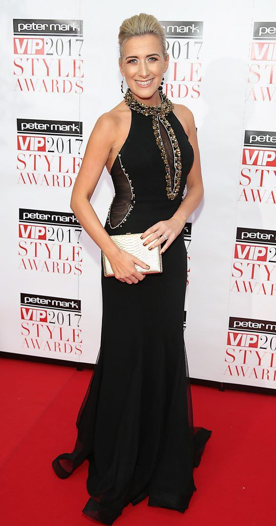 Ciara Doherty at the Peter Mark VIP Style Awards 2017 at The Marker Hotel, Dublin. Picture by Brian McEvoy.