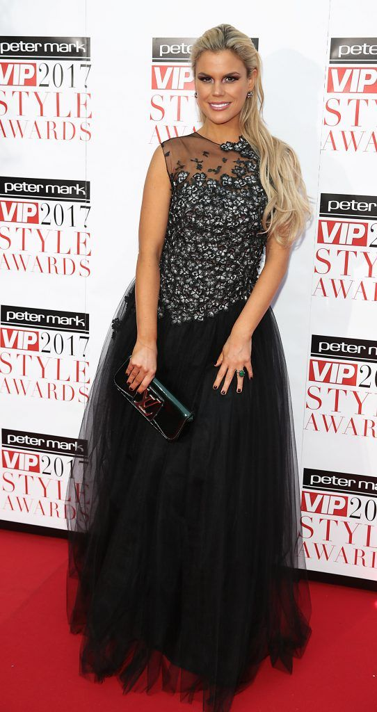 Rosalind Lipsett at the Peter Mark VIP Style Awards 2017 at The Marker Hotel, Dublin. Picture by Brian McEvoy.