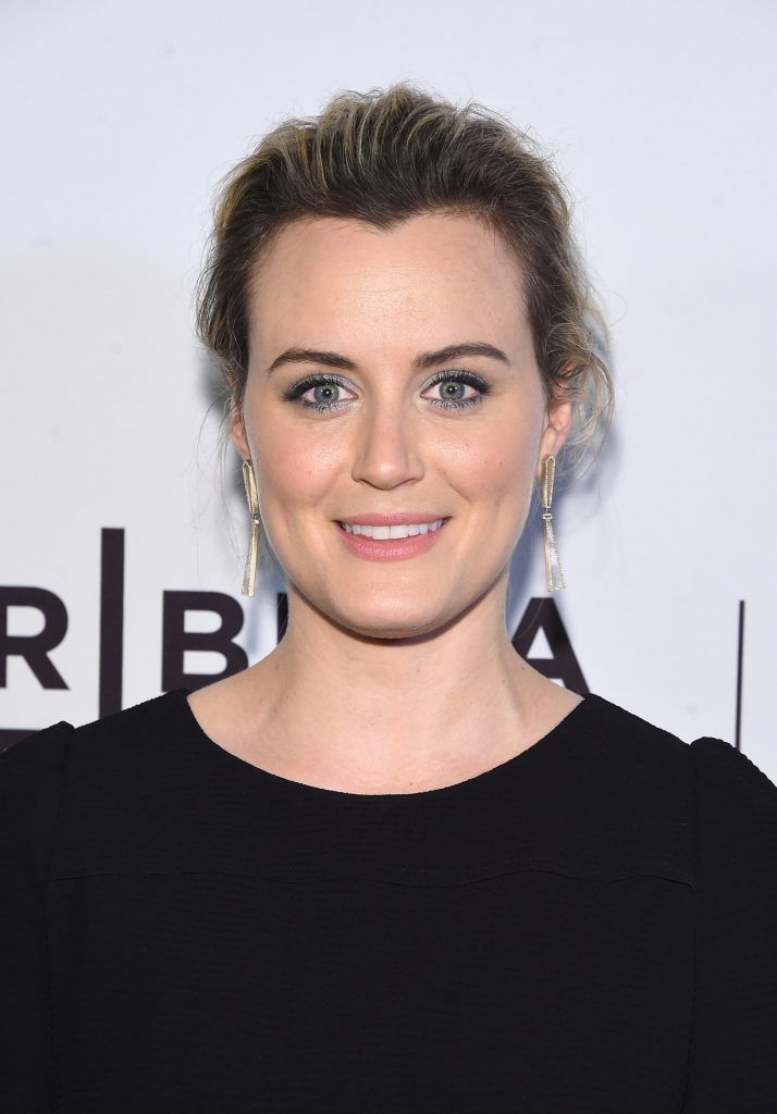 """Actress Taylor Schilling attends """"Take Me"""" Premiere during the 2017 Tribeca Film Festival at SVA Theater on April 25, 2017 in New York City.  (Photo by Jamie McCarthy/Getty Images for Tribeca Film Festival)"""