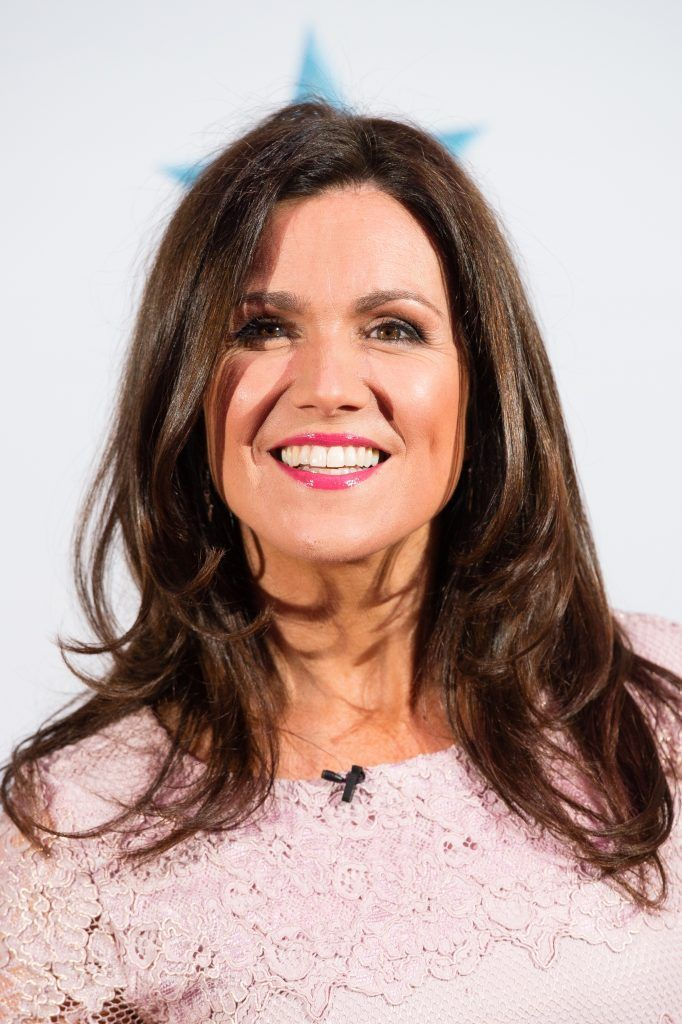 Susanna Reid attends the Good Morning Britain Health Star Awards at the Rosewood Hotel on April 24, 2017 in London, United Kingdom.  (Photo by Jeff Spicer/Getty Images)
