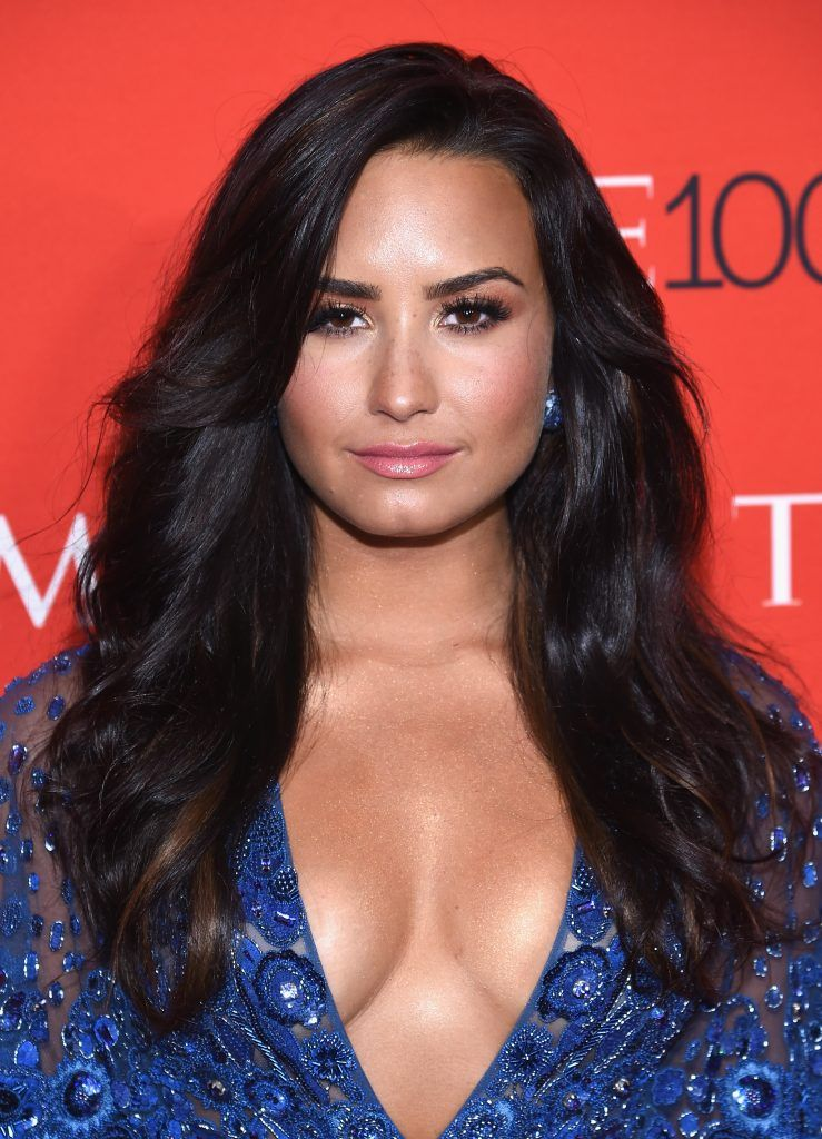Singer Demi Lovato attends the 2017 Time 100 Gala at Jazz at Lincoln Center on April 25, 2017 in New York City.  (Photo by Dimitrios Kambouris/Getty Images for TIME)