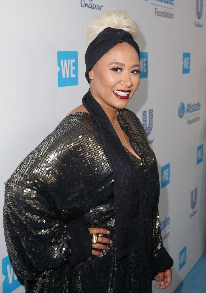 Singer/songwriter Emeli Sande attends WE Day California to celebrate young people changing the world at The Forum on April 27, 2017 in Inglewood, California.  (Photo by Jesse Grant/Getty Images for WE)