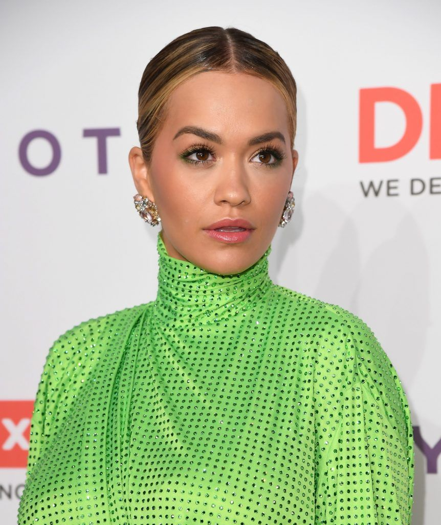 Rita Ora attends the 11th Annual DKMS 'BIG LOVE' Gala on April 27, 2017 in New York City.  (Photo by ANGELA WEISS/AFP/Getty Images)