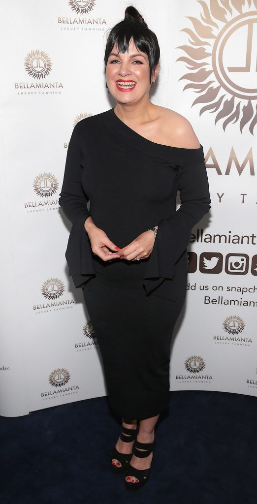 Triona McCarthy pictured at the Bellamianta Tan summer launch party at Number 22 South Anne Street, Dublin. Picture: Brian McEvoy