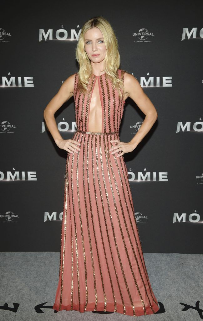 "Annabelle Wallis attends ""The Mummy - La Momie"" Paris Premiere at Le Grand Rex on May 30, 2017 in Paris, France.  (Photo by Pascal Le Segretain/Getty Images)"