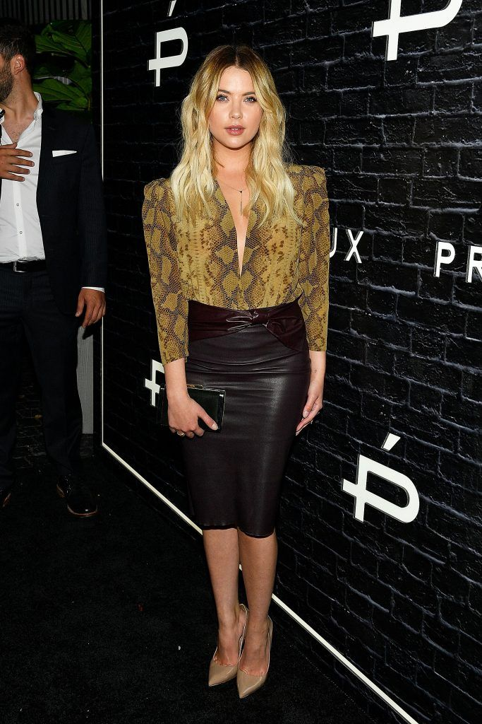 Actress Ashley Benson arrives at the Prive Revaux Launch Event at Chateau Marmont on June 1, 2017 in Los Angeles, California.  (Photo by Matt Winkelmeyer/Getty Images)