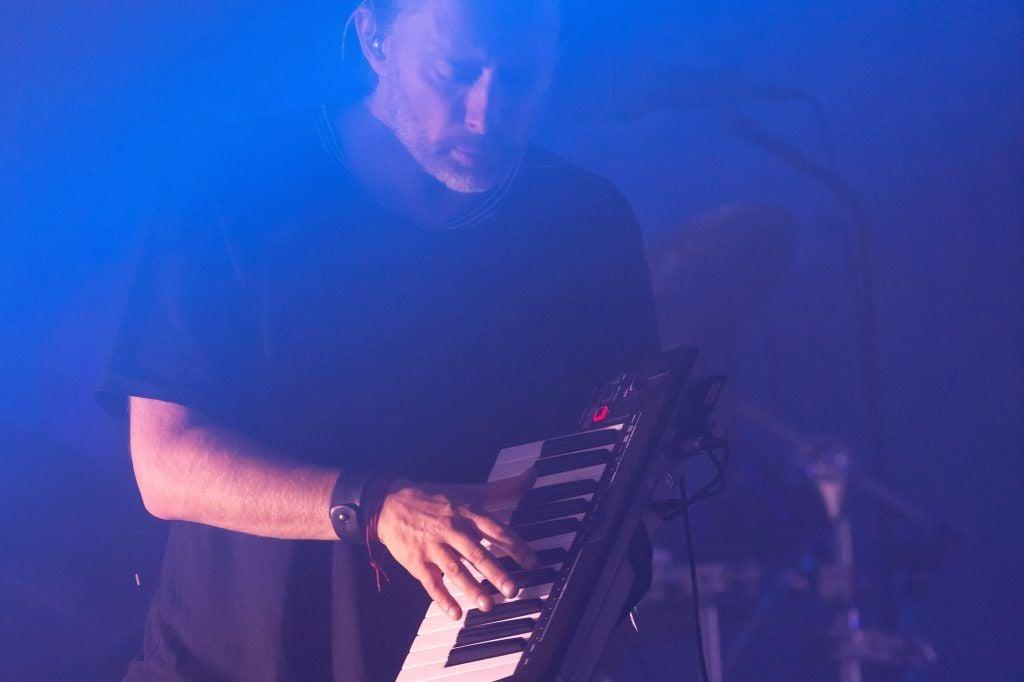 Thom Yorke of Radiohead performs on day 2 of the Glastonbury Festival 2017 at Worthy Farm, Pilton on June 23, 2017 in Glastonbury, England.  (Photo by Ian Gavan/Getty Images)